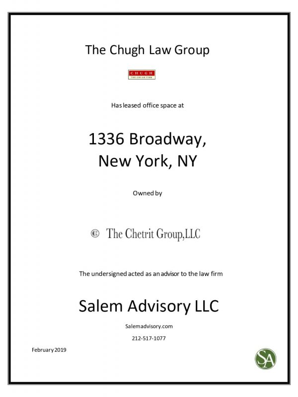 lease commercial real estate nyc